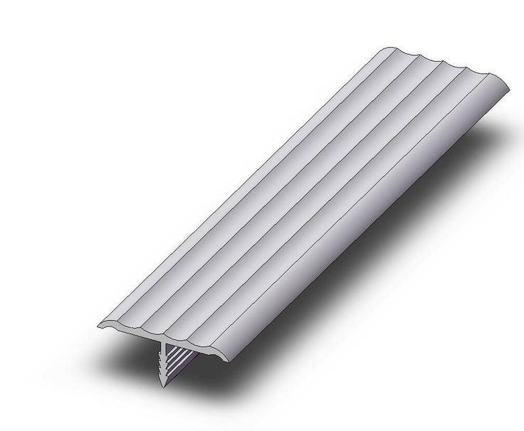 Fluted Trim Boards ~ Push in edge trim fluted covers quot