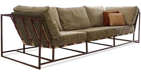 Industrial chic sofa furniture pinterest for Couch industrial