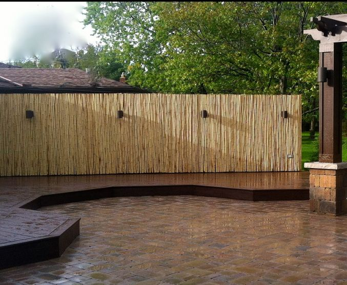 Woody Likes Bamboo Privacy Screen Garden Woody 39 S