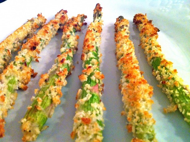 Roasted Asparagus - not a fan but, this recipe makes it sound good.