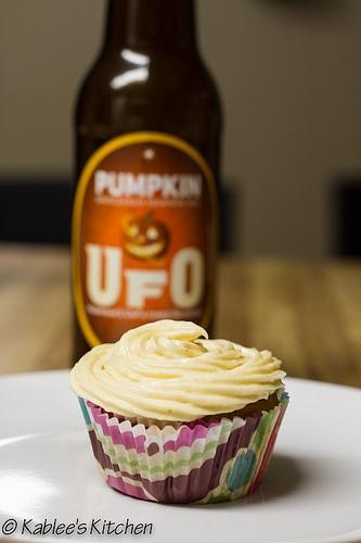 Pumpkin Ale Cupcakes | Desserts | Pinterest