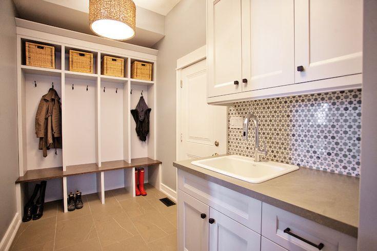 Laundry room mudroom design dream home pinterest - Mudroom laundry room designs ...