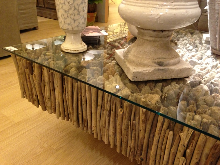 Driftwood Coffee Table Beach House Pinterest