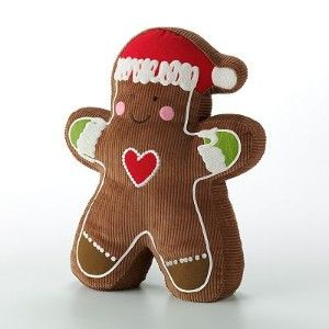 Gingerbread Decorative Pillows : Gingerbread Man Decorative Pillow Christmas Pinterest