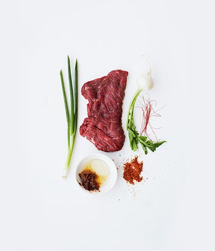 skirt steak with red skirt steak with red miso grilled skirt steak ...