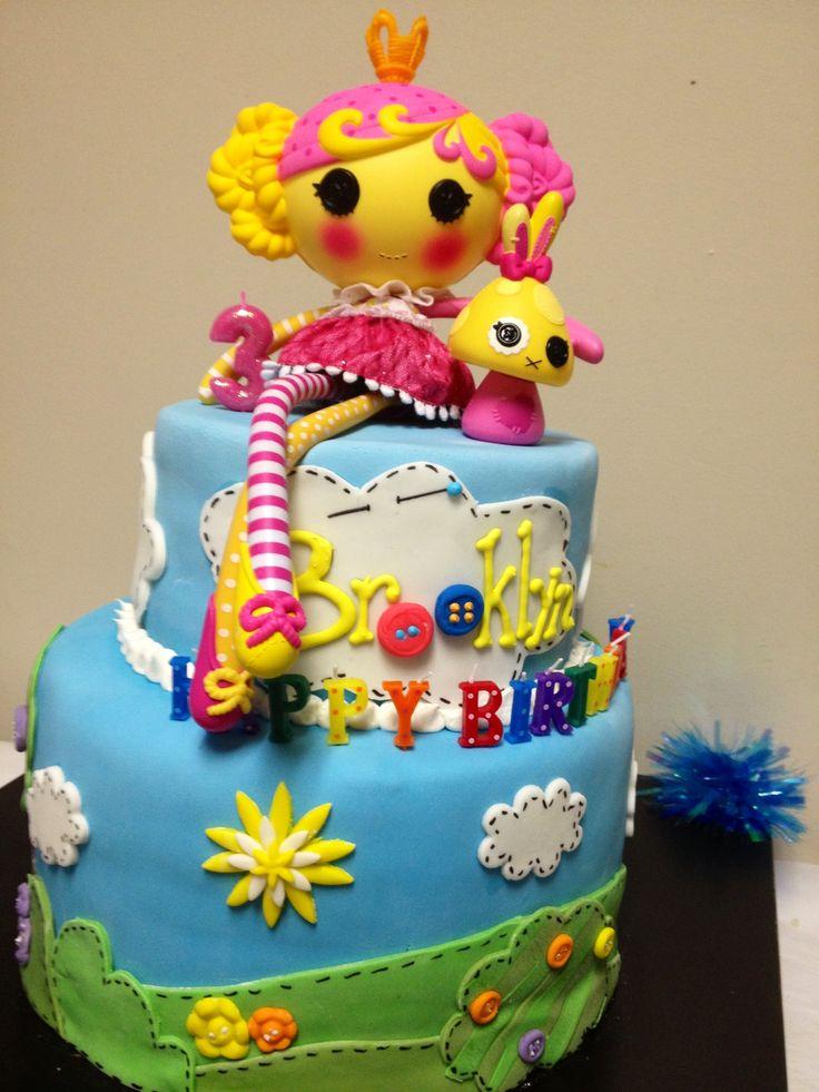Lalaloopsy cake  Lalaloopsy cakes  Pinterest