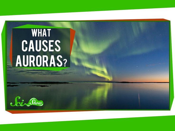 What causes auroras aurora pinterest