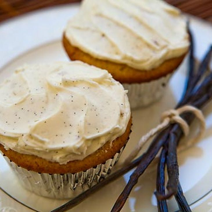 Double Vanilla Cupcakes Recipe | Cupcakes! | Pinterest