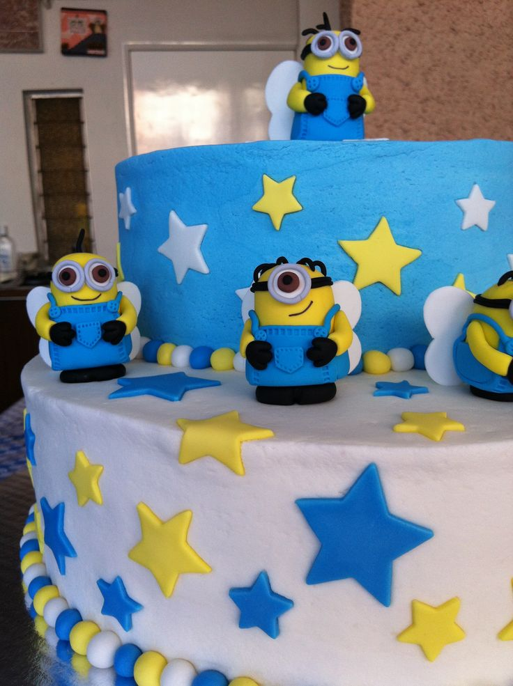 Cake Designs Of Minions : Minions cake Cakes Pinterest