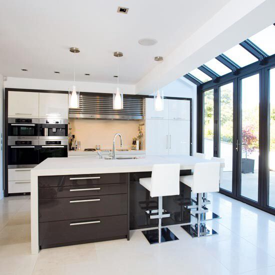 Glass Roof Kitchen Extension Ideas Ideas For Extension Pinterest