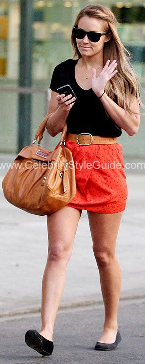 oh lauren conrad. i just love you and your clothes.