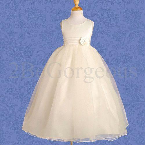 Wedding Flower Girl Bridesmaid Party Dress 68