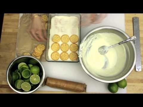 10-Minute No-Bake Lime Cracker Pie | Food - Desserts | Pinterest