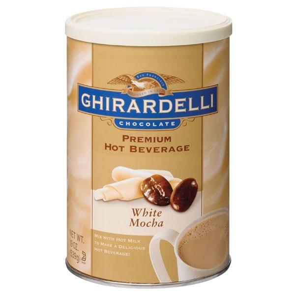 ... added to a mug of regular hot chocolate for that creamy mocha edge