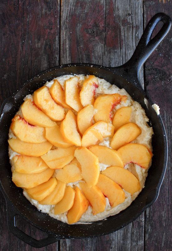Buttermilk Peach Buckle (gluten-free) - BoulderLocavore.com