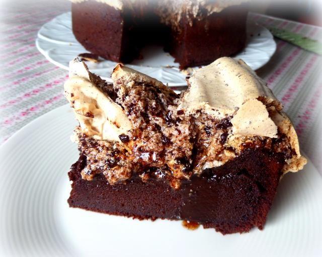 Chocolate Meringue Cake | recipes | Pinterest