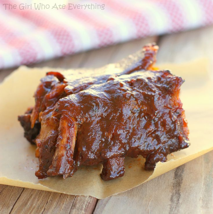 Slow Cooker Barbecue Ribs | Recipe