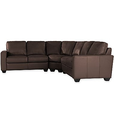 3 pc leather sectional jcpenney 3400 home sweet home for Jcpenney sectional sofas