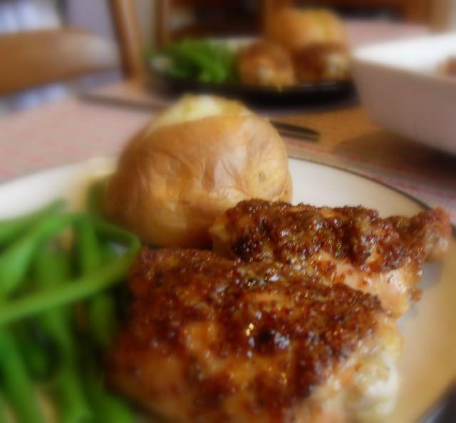 Maple & Mustard Glazed Chicken Thighs | Yummy Chicken & Turkey | Pint...