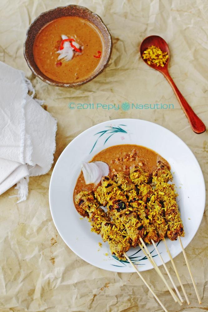 Surabaya Coconut Beef Satay - see you soon ;) eat you soon!