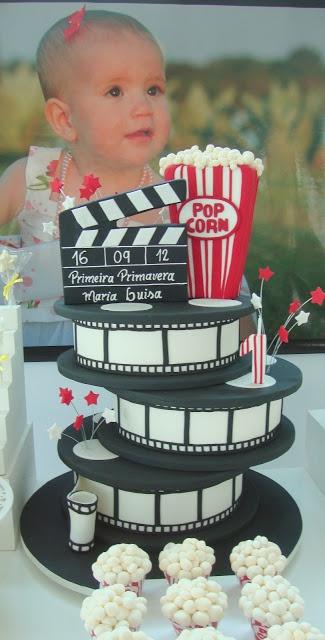 Festa Cinema - Bolo Rolos de Filme