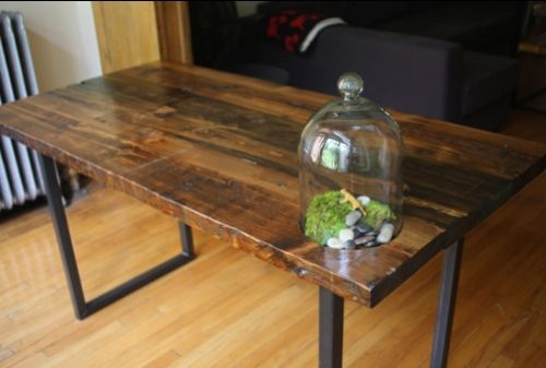 Building A Reclaimed Wood Table Top, How... - Amazing Wood Plans