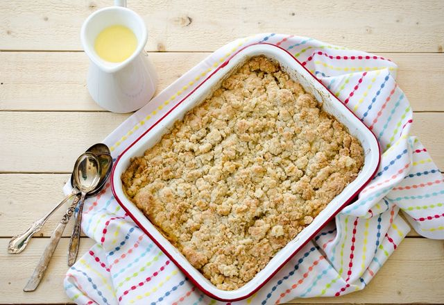 Mango Ginger Crumble: delicious! added more oatmeal and a bit of ...