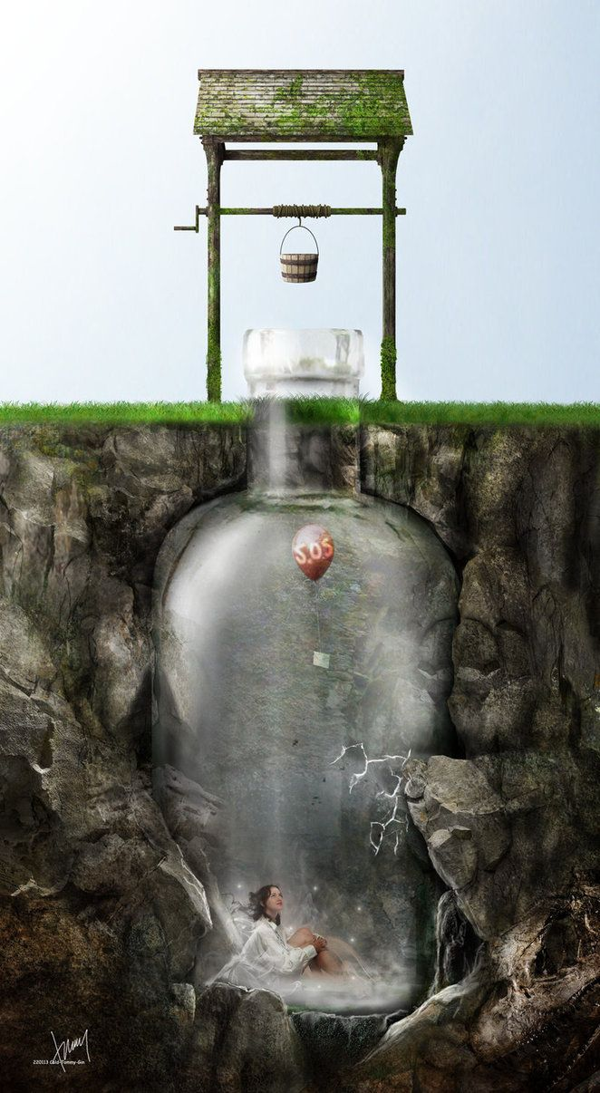 5) Bottled --Genie In The Bottle by ~Cold-Tommy-Gin on deviantART