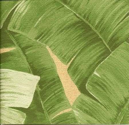 banana leaf cork wallpaper we need a bigger place and