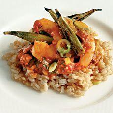 Lowcountry Shrimp-and-Okra Pilau Recipe | Buddha Belly | Pinterest
