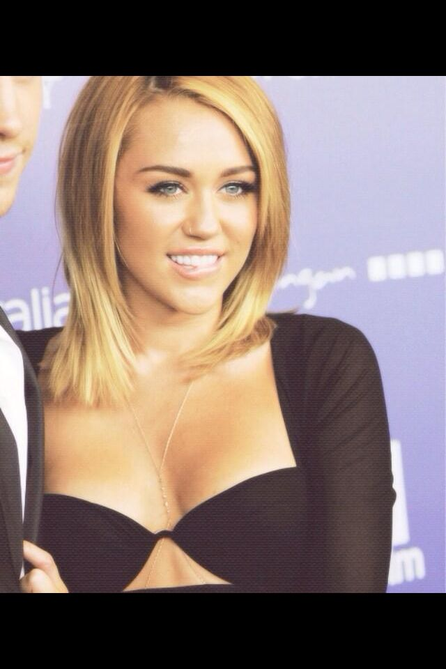 miley cyrus medium length hair hair and makeup freak