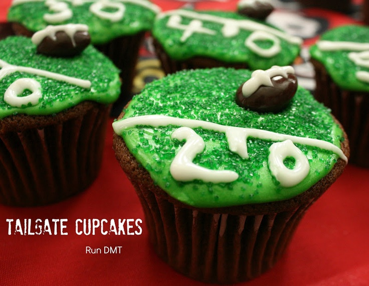 Are You Ready for Some Football and Tailgate Cupcakes? Run DMT