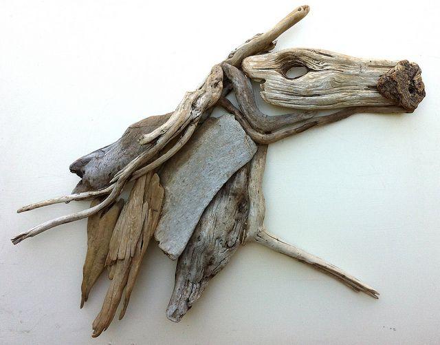 driftwood art -