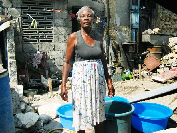 The Way We See it - From a collection of photos taken by Haitian women in post-earthquake Haiti. Dignity, Strength.