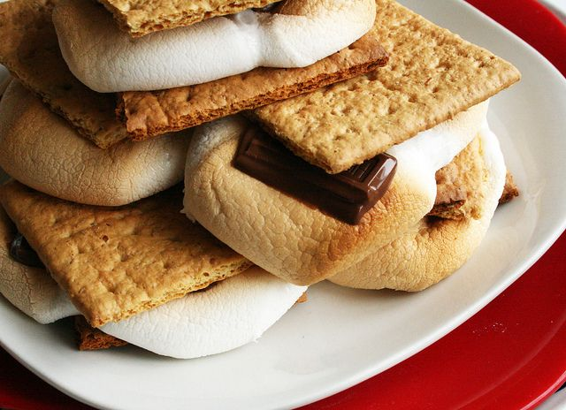 Oven Baked S'mores | sweet tooth | Pinterest