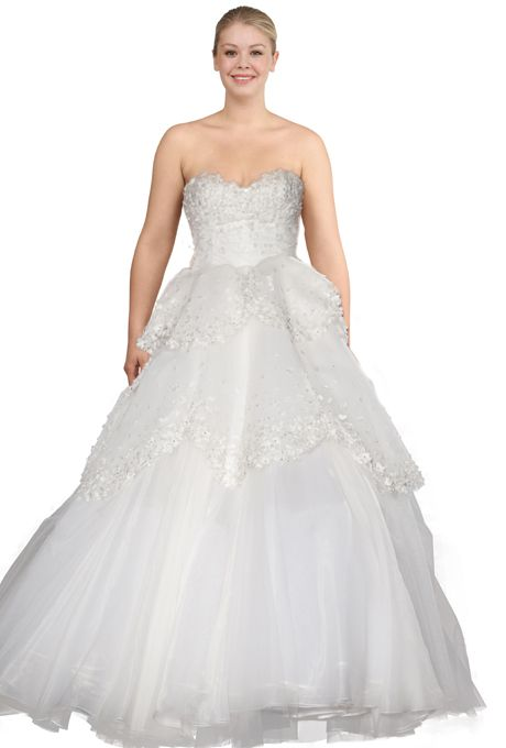 Wedding Dresses For Pear Shaped Figures