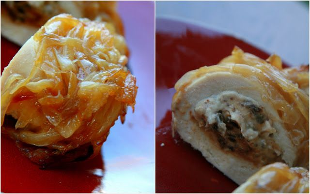 Fig & Goat Cheese Stuffed Chicken With Caramelized Onions | Life As A ...