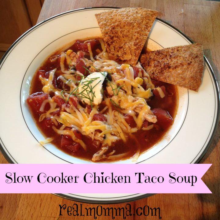 Slow Cooker Taco Soup Recipe — Dishmaps