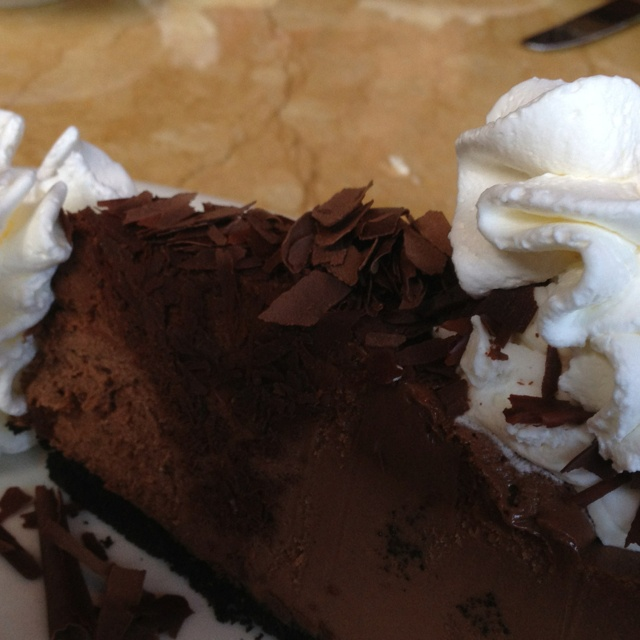 Chocolate Mousse Cheesecake | Desserts | Pinterest