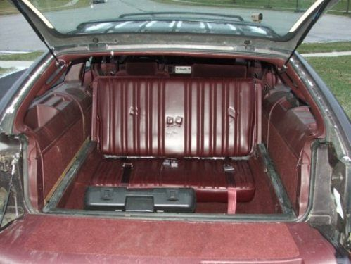 Rear Facing Station Wagon Seats So Young Pinterest