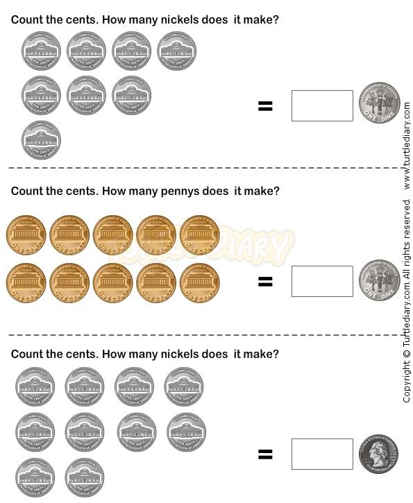 Money 28 - math Worksheets - kindergarten Worksheets