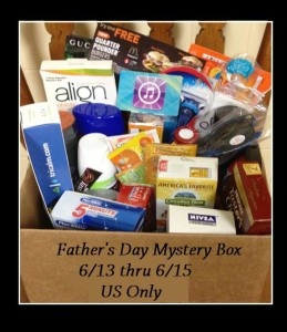 father's day mystery box contents