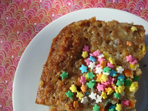 Birthday Cake Bread Pudding | Recipe