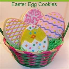 Easter Egg Cookies   Eggs   Pinterest