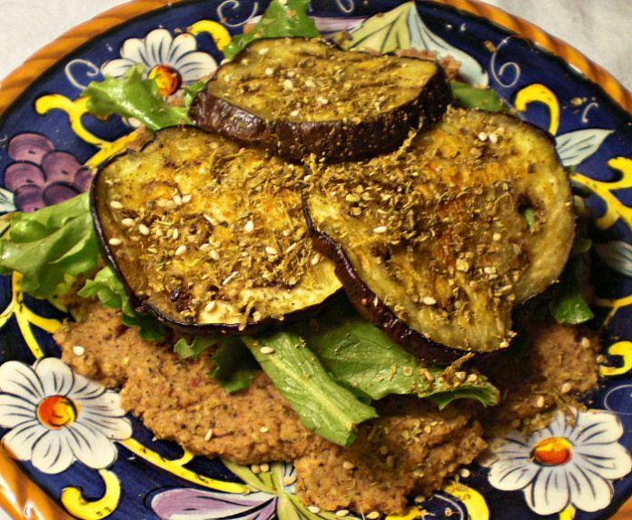 Roasted Eggplant + Za'atar Pizza Recipes — Dishmaps