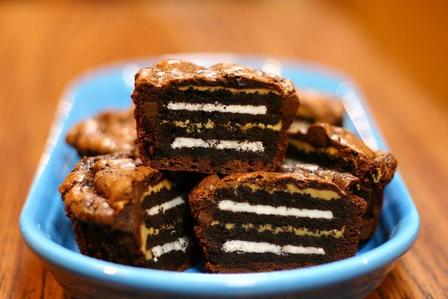 Oreo and Peanut Butter Brownie Cakes | Cake/Cheesecake/Pie | Pinterest
