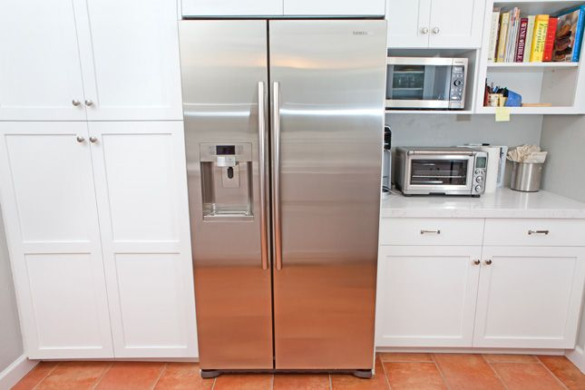 Variation and nicely frame the stainless steel refrigerator location