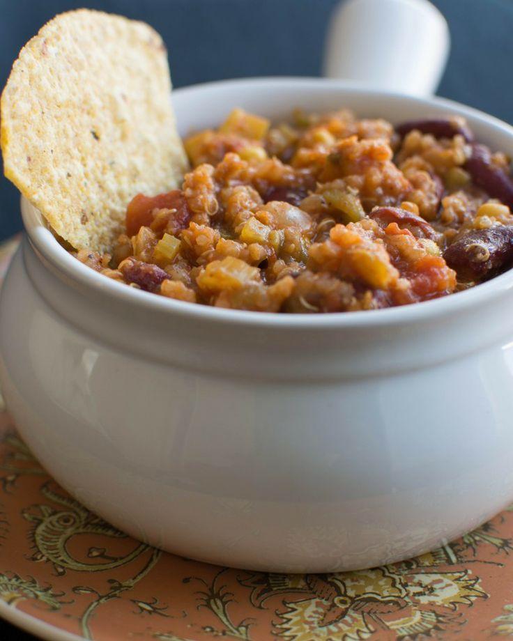 Quinoa Chili | A New Perspective | Pinterest