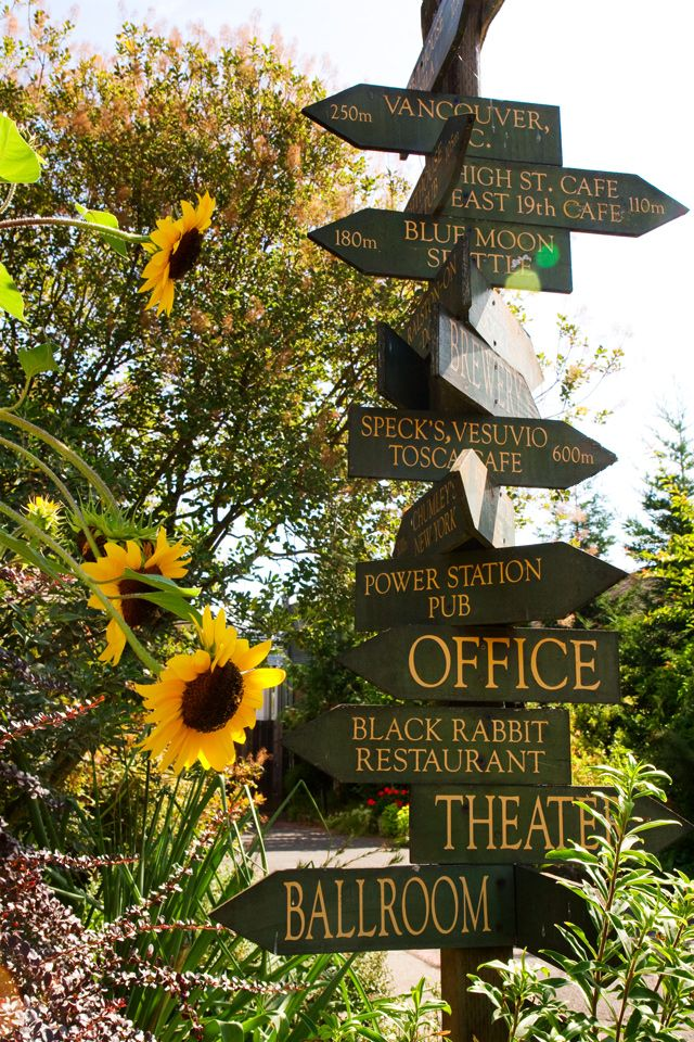 Mcmenamins Edgefield Oregon Sunflower Smitten Pinterest