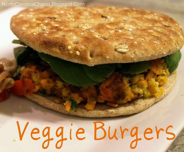 Homemade Veggie Burgers | Recipes; [vegetarian/pescatarian] | Pintere ...